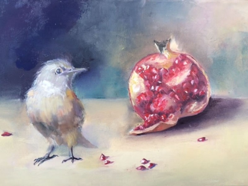bird-and-pomegranate