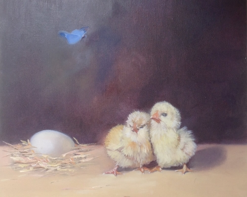 Two Little Chicks